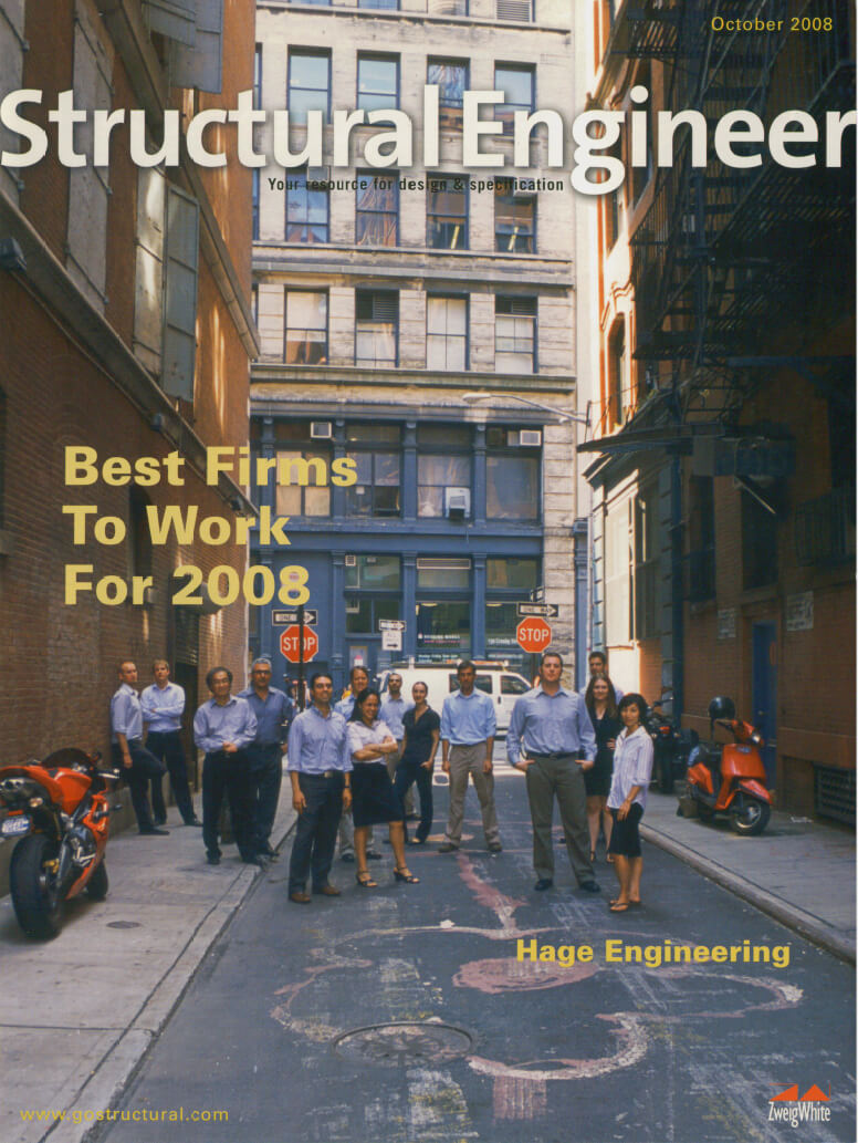 Structural Engineering Magazine : News hage engineering pc structural consultants